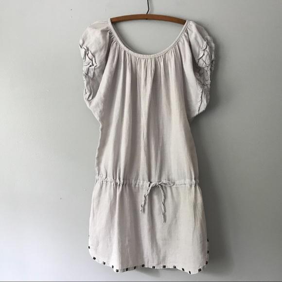 Anthropologie Dresses & Skirts - Anthropologie MK2K Gray Cotton Dress Tunic - S